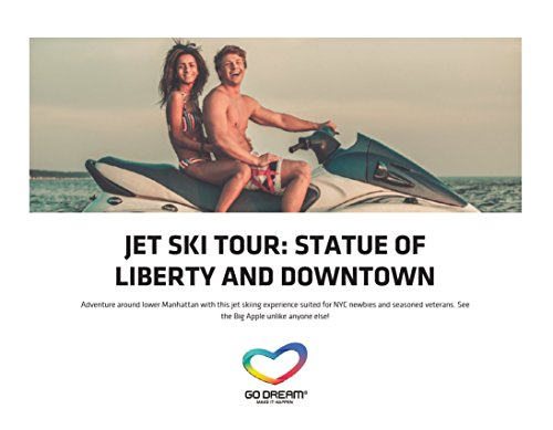 Jet Ski Tour Experience Statue of Liberty & Downtown New York Gift Card NYC - Sent in a Gift Package