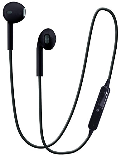 hype bluetooth stereo in ear earphones black. Black Bedroom Furniture Sets. Home Design Ideas