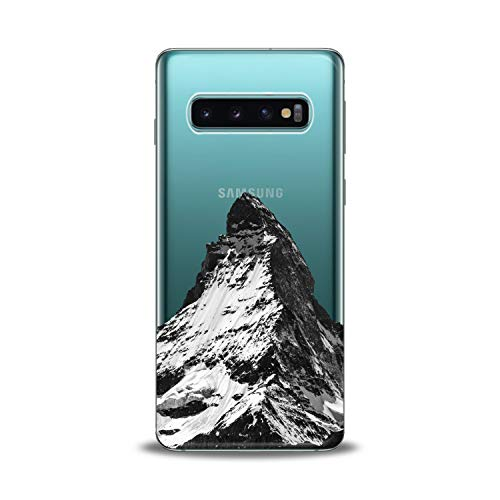 Lex Altern Samsung Galaxy TPU Case s10 Plus A6s s9 Plus A8 s8 A9 Note Clear Phone Mount Black Cover Print Snow Attractive Highlands Protective Design Flexible Men Women Silicone -