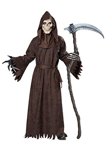 [Ancient Grim Reaper Adult Costume] (Scythe Halloween)