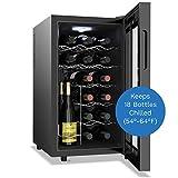 hOmelabs 18 Bottle Wine Cooler - Free Standing