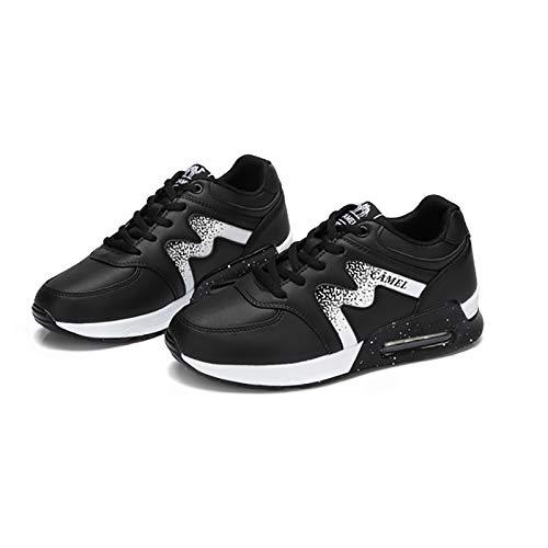 Cushion Casual Schuhe 38 Single Kleine Air Schuhe Laufschuhe SCHWARZ Damenschuhe Atmungsaktive Student Farbe Frau Weiße größe Sneakers q5wPaX