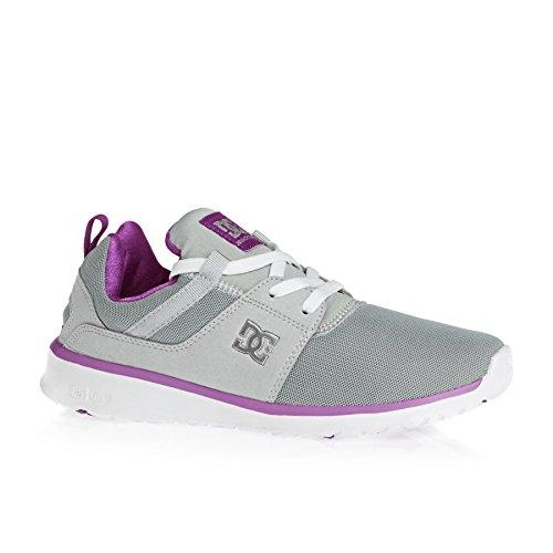 Zapatillas Shoes DC gris J Heathrow Mujer de deporte R8TxqOgwA