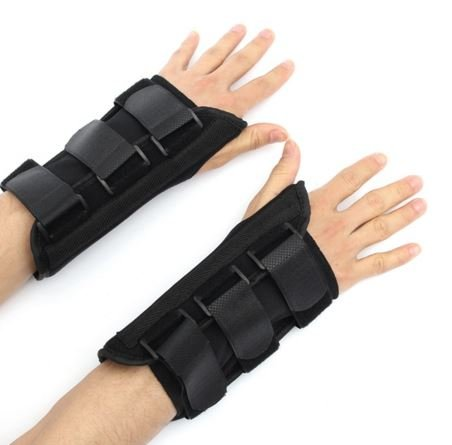 Size: M (Right hand)Wrist Brace Support Carpal Tunnel Sprain Forearm Splint Band by - Glasses For Face My The Right