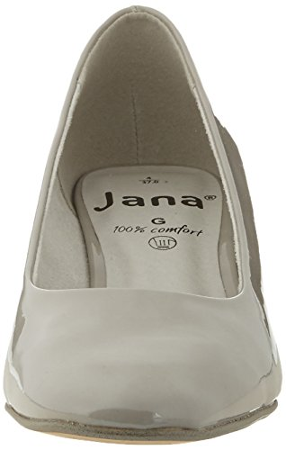Jana Damen 22302 Pompen Grijs (lt.grey Patent 281)