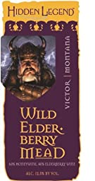 NV Hidden Legend Wild Elderberry Honey Mead 750 mL