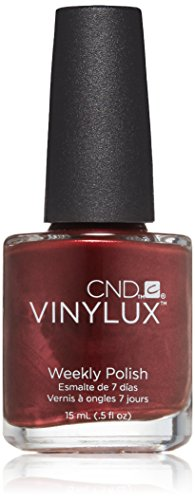 Creative Nail Design Vinylux Weekly Nail Polish, Crimson ...