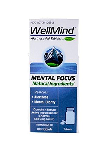 WellMind Mental Focus, 100 Tablets