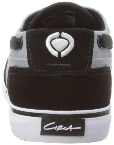 C1rca Menns Valeo Mote Sneaker, Svart / Grå, 8 M Oss