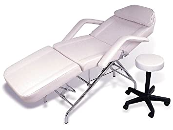 Spa, Facial, Dental, Tattoo U0026 Massage Bed Chair + Free Adjustable Stool (