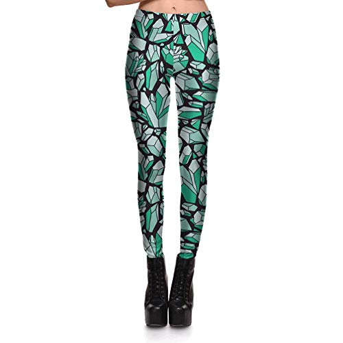 2019 Yoga Pants Printing Casual Leggings Slimming and Quick-Drying Nine Pants Women's Fitness Pants Sweatpants
