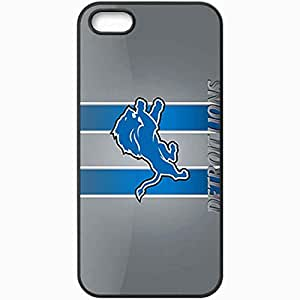 Personalized iPhone 5 5S Cell phone Case/Cover Skin 14502 detroit lions 2 sm Black by lolosakes