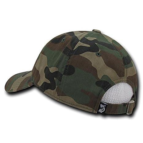 ec56751670e4e RapDom Polo Style American Pride Flag Baseball Caps Tonal Flag Woodland at  Amazon Men s Clothing store
