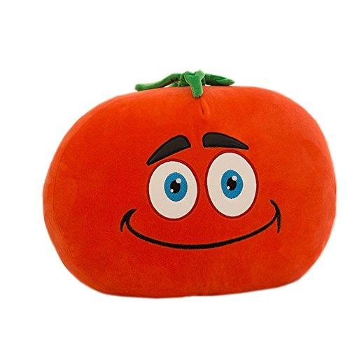Creative Simulation Vegetables Plush Toy Pillow (tomato)
