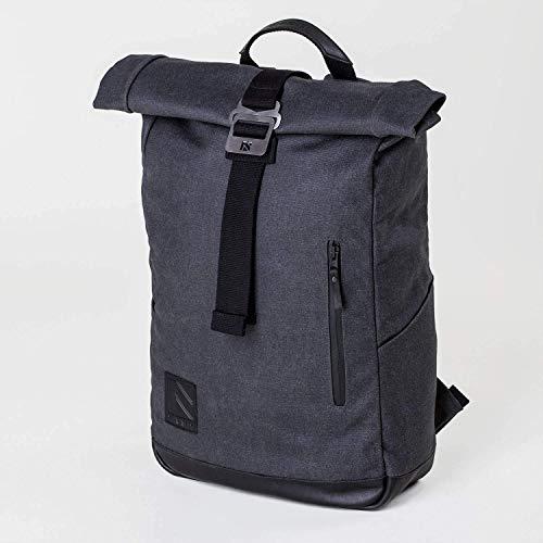 911483d9a217b2 Roll Top, Roll Top Backpack, Backpack, Laptop Backpack, Mens Backpack,  Canvas Backpack, Travel Backpack, Black Backpack, Leather Backpack, Rucksack,  ...