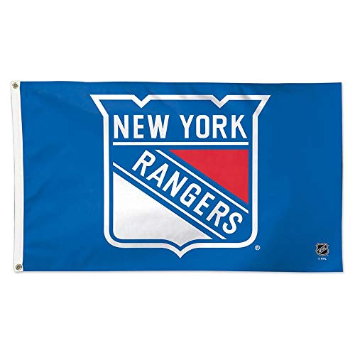 Wincraft NHL New York Rangers Deluxe Flag, 3' x 5'