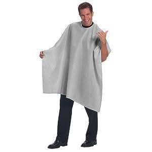 Betty Dain Snap Seersucker Barber Cloth, White/Black