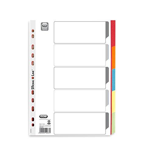 Elba Cardboard Register, Strong-line. Blank, 5 Sheets 1 Register ()