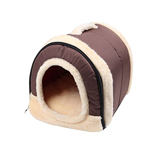 - Deboc 1Pc Pet Dog Bed House Kennel Dual-Use Washable Mat Pad Puppy Warm Soft Cushion (S)