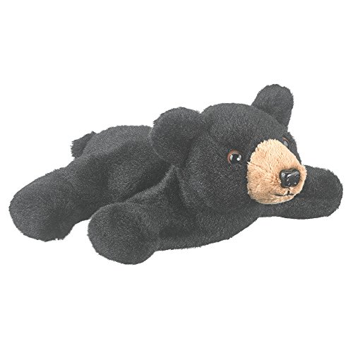 Wildlife Artists Black Bear Plush Finger Puppet Toy, 7