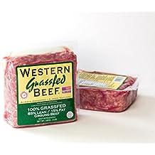 100% Grass Fed Ground Beef Bricks 85% Lean, 15% Fat (4 pack)