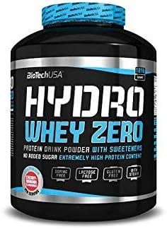 BioTech Hydro Whey Zero Proteínas de Suero de Leche, Sabor Cookies&Cream - 1816 gr