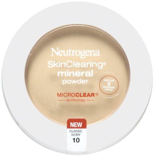 Neutrogena SkinClearing poudre minérale, Classic Ivoire 10