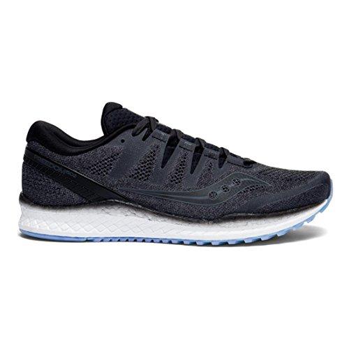 Saucony 2 Running Freedom Black ISO Shoes Men's SqvSrwZ