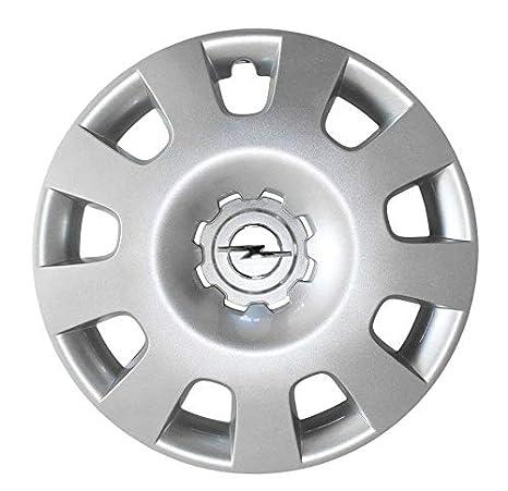 Opel Recambios Originales GM 1 x Tapacubo Plata Cromado 15 Pulgadas Astra H Zafira B 13191473: Amazon.es: Coche y moto
