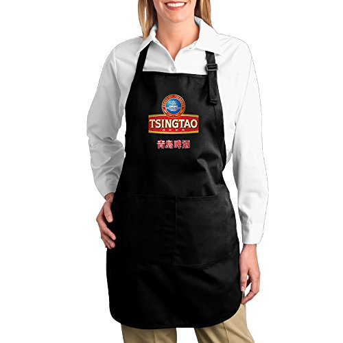 chinese-tsingtao-beer-logo-bib-apron-with-pockets-kitchen-and-cooking-apron-durable-stripe-for-cooki