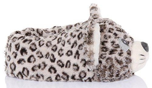 Pantuflas para mujer en 3D diseño de animal Cutie Cat