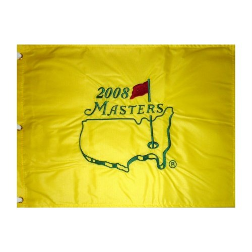 2008 Masters Embroidered Golf Pin Flag - Trevor Immelman Champion