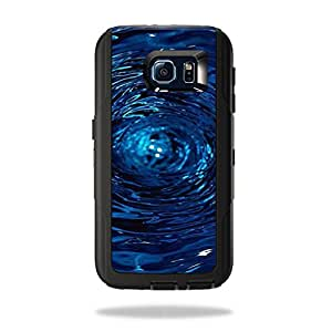 MightySkins Protective Vinyl Skin Decal for OtterBox Defender�Samsung Galaxy S6 cover wrap sticker skins Blue Vortex
