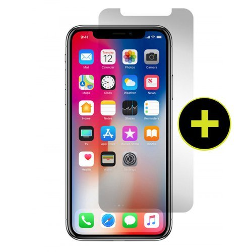 Gadget Guard Black Ice Plus Edition Tempered Glass Screen Guard for Apple iPhone X - Clear