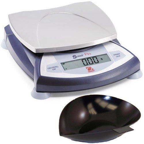Ohaus SP601 Scout Pro Portable Balances, 600g Capacity, 0.1g Readability