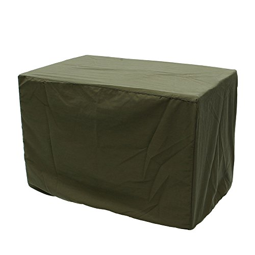 24''X18''x17'' Green Protective Waterproof Dustproof Extra Large Generator Cover  Furniture Outdoor Outside Cover Protection Canopy Awning Cloth Shade Sun Patio Garden Table Chair by Generic