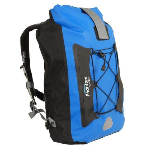 Phantom Aquatics Walrus 25 Premium Waterproof Backpack Dry Bag (Black)
