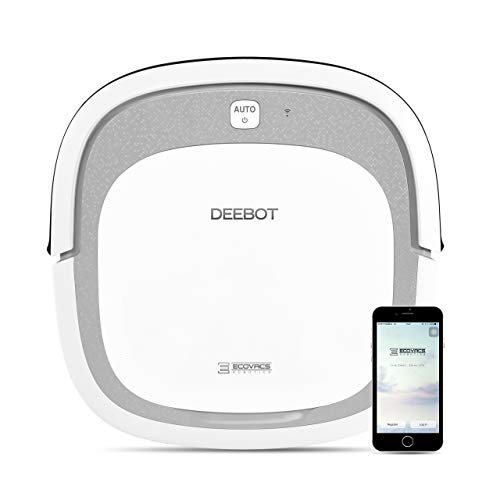 ECOVACS DEEBOT Slim2 Robotic Vacuum Cleaner for Bare Floors...
