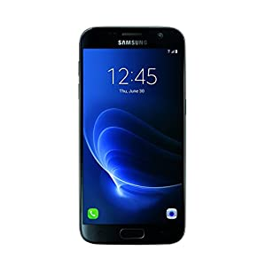 "Samsung Galaxy S7 Certified Pre-Owned Factory Unlocked Phone - 5.1"" Screen - 32GB - Black (1 Year Samsung U.S. Warranty)"