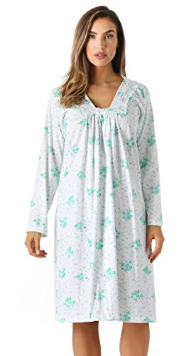 - 6085-3-M Just Love Nightgown / Women Sleepwear / Womans Pajamas,Mint,Medium