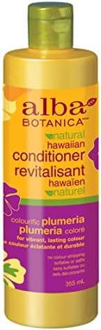 Alba Botanica Colorific Plumeria Hawaiian Conditioner, 12 oz.