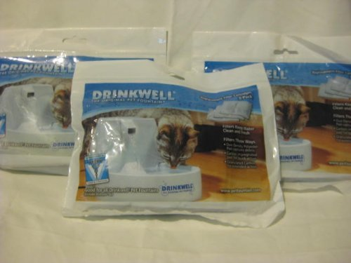 drinkwell replacement filters 3pk - 6