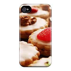 Fashion Case Cover For Iphone 4/4s(frost Topped Cream Filled Cookies) by runtopwell