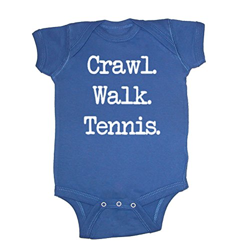 We Match! Unisex Baby - Crawl Walk Tennis Baby Bodysuit for sale  Delivered anywhere in USA
