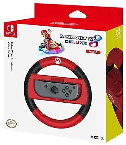 Hori Mario Kart 8 Deluxe Mario Racing Wheel Controller