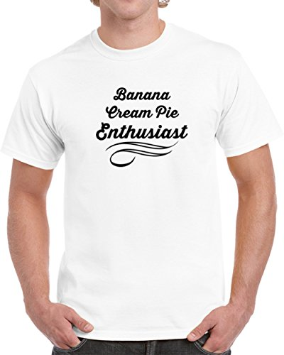Banana Cream Pie Enthusiast T shirt 2XL (Cream Banana Pie)