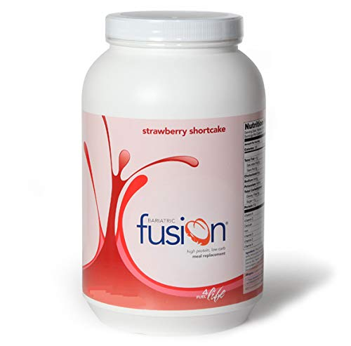 - Bariatric Fusion Meal Replacement Protein 21 Serving Tub Strawberry Shortcake for Gastric Bypass & Sleeve Gastrectomy