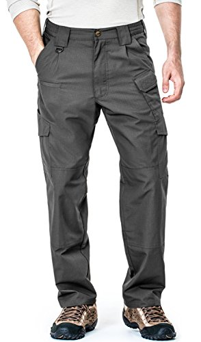 CQ-TLP103-CHC_36W/36L CQR Men's Tactical Pants Lightweight Assault Cargo TLP-103