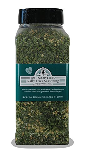Two Snooty Chefs Rally Fries Seasoning, 16-Ounce