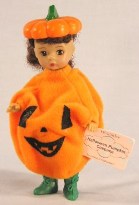 Happy Meal Halloween Costumes (Madame Alexander Doll - Halloween Pumpkin Costume - McDonald's 2003 #05)